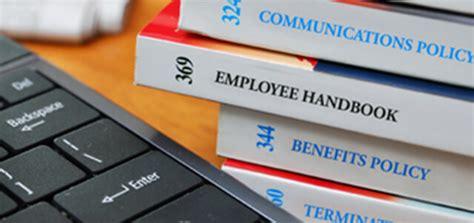 policies    start  strong employee handbook