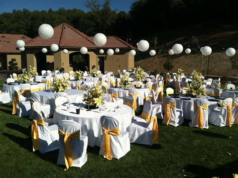 Outdoor Wedding Decorations by This Weeks 14 Outdoor Wedding Decorations