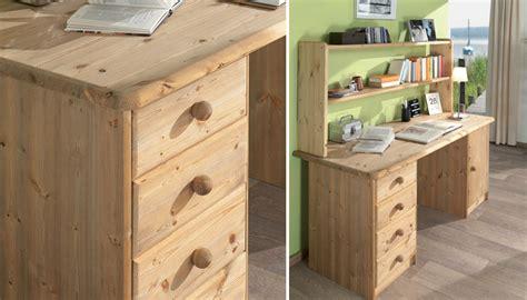 bureau en pin massif caisson de bureau pin