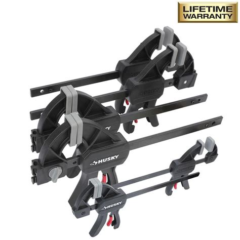 piece trigger clamp set clamping removable jaw pads wood