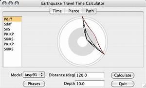 Calcul Temps De Trajet : l 39 information sismologique en ligne logiciels et ressources internet d 39 int r t p dagogique ~ Medecine-chirurgie-esthetiques.com Avis de Voitures