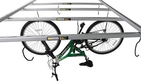 ceiling bike rack saris cycle glide bike storage system ceiling mount 4