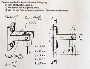 Neutralisation Berechnen : schrauben und balkenberechnung mathelounge ~ Themetempest.com Abrechnung