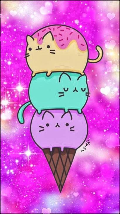 Galaxy Kawaii Pusheen Emoji Drawings Unicorn Kittens