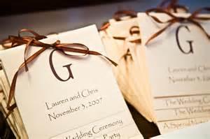 diy wedding programs barham 39 s