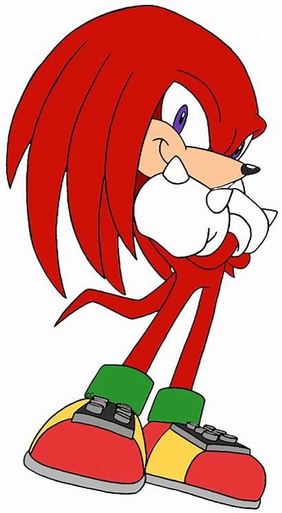 Sonic Hedgehog Cartoon Knuckles Clip Clipart Characters
