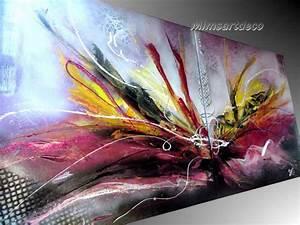 Tableau Contemporain Grand Format : tableaux abstraits dernieres creation ~ Teatrodelosmanantiales.com Idées de Décoration