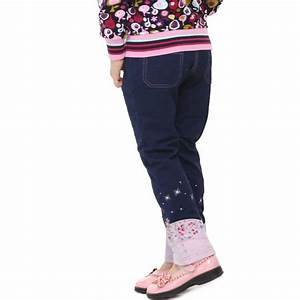 Girl Jeans Nova Kids Wear Beautiful Flowers And Stars Embroidery Denim Brand Floral Jeans For ...