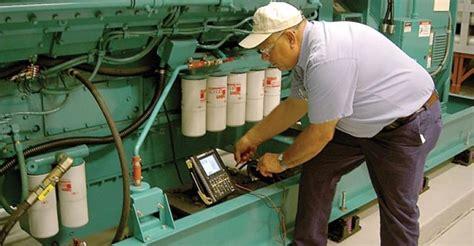 standby diesel generator maintenance electrical