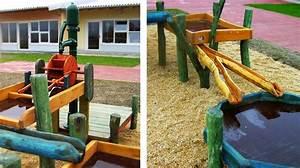 Wasserspielplatz Selber Bauen Wasserspiel Selber Bauen Bauanleitung
