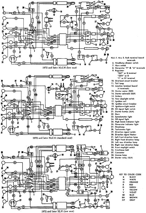 Need Wiring Diagram For Harley Davidson Xlh Sportster