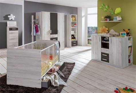 Babyzimmer Cariba 4 Set 9teilig Weißeiche Babybett
