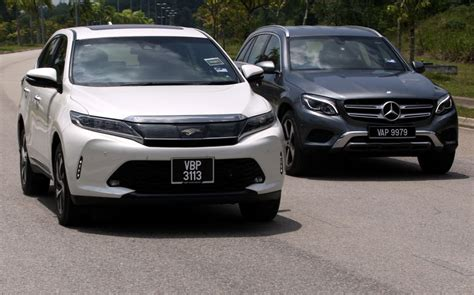 Merced Toyota shootout toyota harrier 2 0t luxury vs mercedes glc