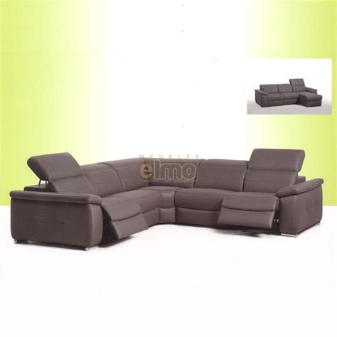 canape angle relax cuir canape angle cuir relax electrique 28 images canap 233
