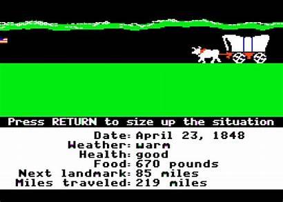 Trail Oregon 1985 Mecc Apple Ii Dysentery