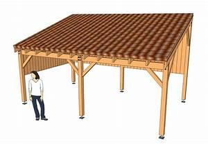 Construire Un Carport : plan pour fabriquer un carport en bois ~ Premium-room.com Idées de Décoration