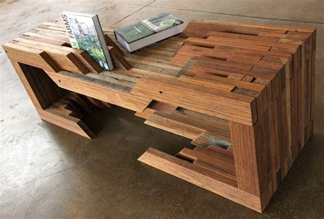 design brigade unveil reclaimed wood table from coney island boardwalk at wanted design