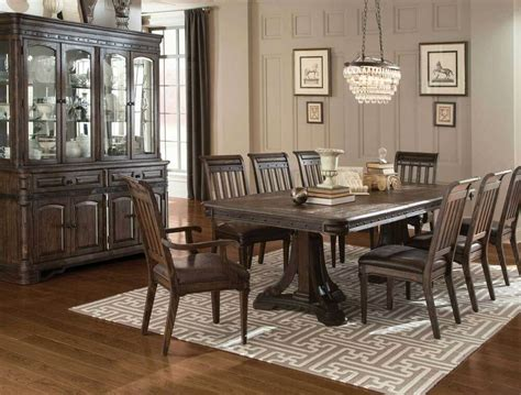 spanish style rustic dining table chairs dining room