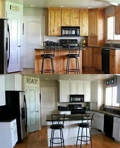 Küchenfronten Streichen Vorher Nachher : frischen hauch in die k che einbringen mit neuen k chenfronten k che pinterest kuchen ~ Frokenaadalensverden.com Haus und Dekorationen