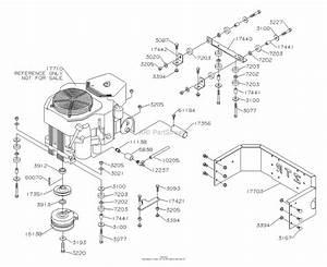 Dixon Ram 44  2005  Parts Diagram For Engine  Kohler