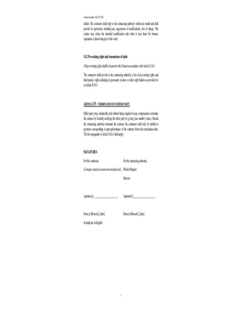 draft service contract form