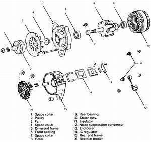 Wiring Diagram Of Ic Type Alternator