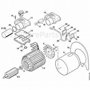 Stihl Re 115 K Pressure Washer  Re 115 K  Parts Diagram  A