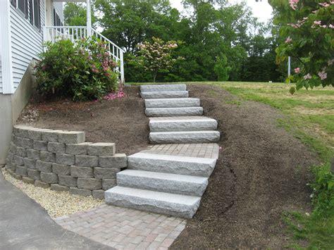 front yard walkways walkway retaining wall