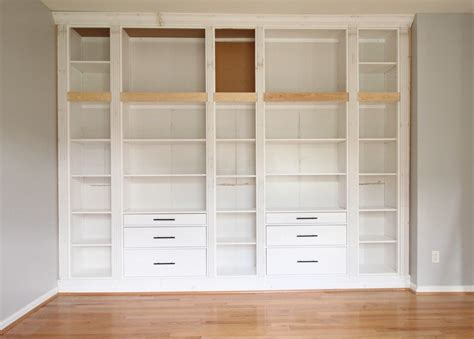 Ikea Hack Hemnes Bookcase by Diy Built In Bookcase Reveal An Ikea Hack My Room