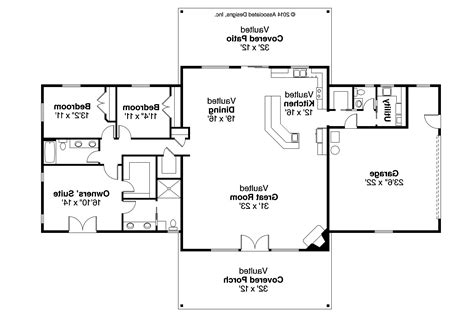 different house plans ranch house plans anacortes 30 936 associated designs
