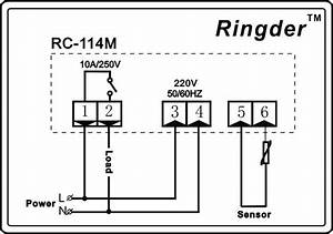 Ringder Rc-114m Oven Digital Thermostat Control Price