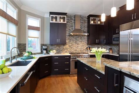 rule  thumb  stacked kitchen cabinets normandy