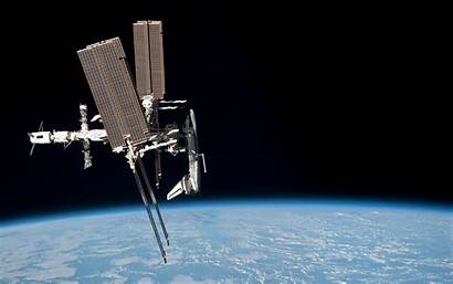 Iss Nasa Space Shuttle Station Earth International