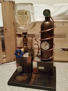 Liquor Dispenser Steampunk    Moonshine Still Style