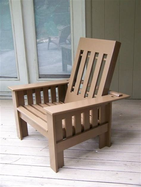 a plans woodwork morris chair plans outdoor