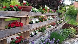 Holzplatten Für Balkon : diy tipp pflanzbeet aus holzpaletten selbst gemacht ~ Frokenaadalensverden.com Haus und Dekorationen