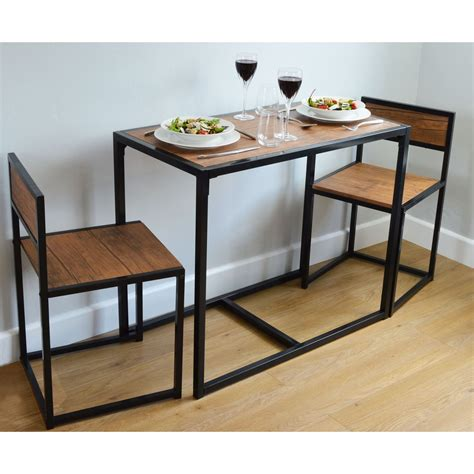 2 person space saving compact kitchen dining table