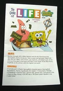 Spongebob Squarepants Game Of Life Replacement