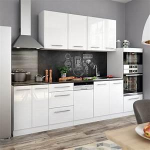 Küchenzeile Mit Aufbau : vicco k chenzeile 295cm hochglanz s line ~ Eleganceandgraceweddings.com Haus und Dekorationen