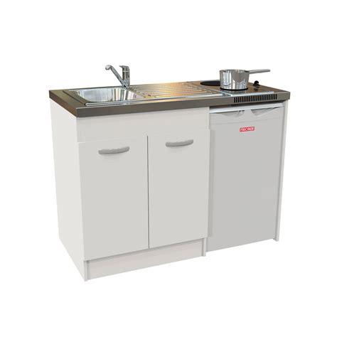 lapeyre evier cuisine kitchenette electrique blanc h 92 5 x l 120 x p 60