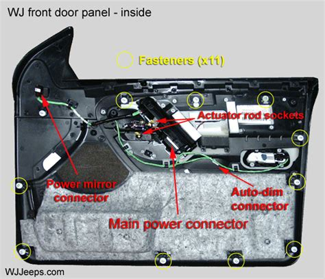 Jeep Grand Cherokee Door Panel Removal