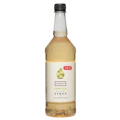 1 ltr monin flavouring syrup. Simply Sugar Free Vanilla Syrup | IBC Simply
