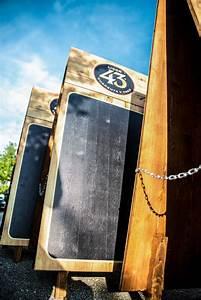 Vorhänge Für Den Außenbereich : druck auf holz kundenstopper aus holz gebrandet mit 43er logo ~ Sanjose-hotels-ca.com Haus und Dekorationen