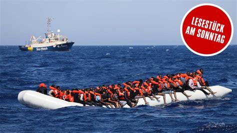 fluechtlinge auf dem mittelmeer retten oder nicht sternde
