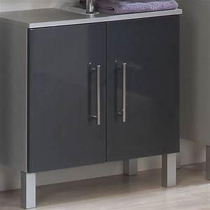 Waschbecken Mit Unterschrank Grau : waschbecken unterschrank pietro in anthrazit ~ Bigdaddyawards.com Haus und Dekorationen
