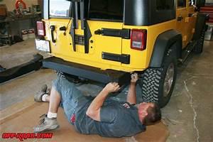 Rancho Rockgear Jeep Jk Front And Rear Bumper Install  Off
