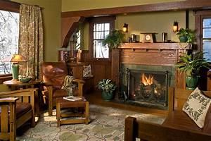 Interior, Color, Palettes, For, Arts, U0026, Crafts, Homes