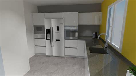 cuisine americain cuisine avec frigo americain maison design bahbe com