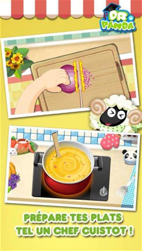application cuisine gratuite dr panda restaurant jeu de cuisine pour enfants