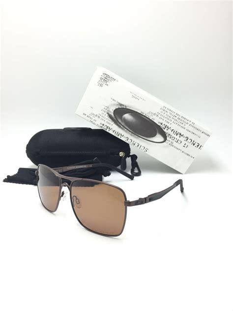 jual kacamata sunglass oakley plaintiff square coklat terbaru di lapak top murah topmurah
